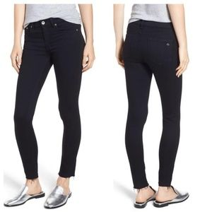 Rag & Bone Raw Hem Ankle Legging Skinny Jeans